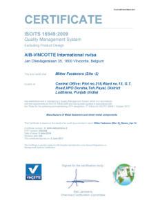 ISO-TS-16949-2009-(Doraha Plant)